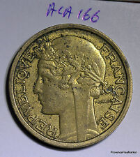Moneta Francia 2 franchi 1938 Morlon br/al aca166