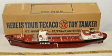 Wen Mac S.S.Texaco North Dakota Oil Tanker Ship Battery Toy Boxed Sharp!