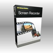 Screen Recorder Capture Video Editing Tool Software Computer Program