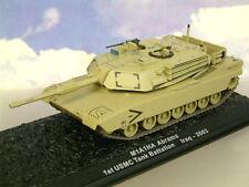 Great DIECAST 1/72 moulé sous pression US M1 M1A1HA Abrams 1ST USMC Tank Battalion Iraq 2003