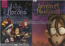 2 Pack La Leyenda De La LLorona &  La Leyenda De La Nahuala 2 Pack SEALED