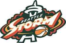 "Seattle Storm WNBA Basketball Car Bumper Sticker 5"" x 3"""