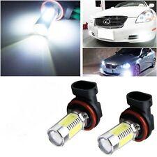 Super white H11 LED bulb for Nissan Navara 2015-2017 NP300 fog lights H16 H8