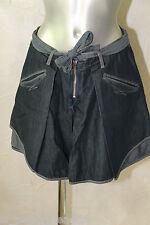 jupe portefeuille en jeans M&F GIRBAUD taille 16 ans (36-38) EXCELLENT ÉTAT