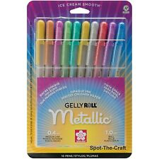 Sakura Gelly Roll Pen Set Metallic Opaque 10 Medium Line 57370