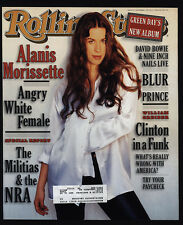 1995 Alanis Morissette - Rolling Stone Magazine *Cover Only*