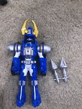 Power Rangers Operation Overdrive Blue Turbo Drill Ranger
