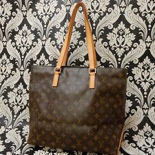 Rise-on LOUIS VUITTON MONOGRAM CABAS MEZZO Tote Bag Shoulder Bag #35 t