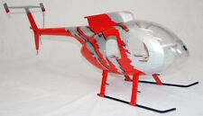 MD 500 E pleinement CCA-Fuselage 500er Heli Jive red, T-REX CopterX fuselage bladehughes