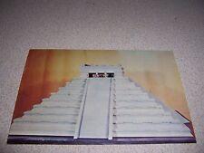 1960s Model of Chichen Itza Maya Temple@ Delaware Art Center Wilmington Postcard