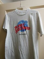 Planet Hollywood Logo T-Shirt M/M   Orlando Florida