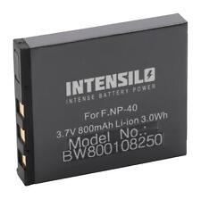 Akku für Pentax Optio L20, M85, S, S4, S4i, S5i, S5n 800mAh 3.7V Li-Ion