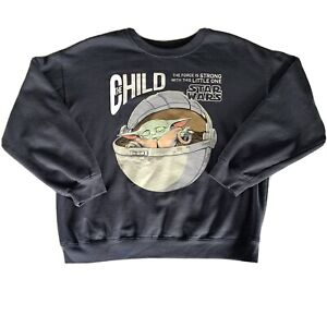 Star Wars The Child graphic long sleeve Pullover sweatshirt