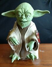 """1999 Star Wars, Yoda 13"""" Hand Puppet (rubber), Applause, with Tags"""