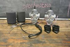 Yamaha XS400 xs360 VM30 Carburetor Kit w/ Cable Mikuni twin carb
