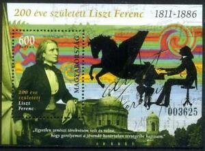 Hungary 2011 Music, Ferenc Liszt MNH**