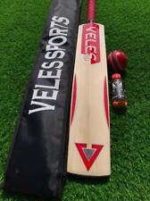 Veles Sport English Willow Cricket Bat Grade 1st Full Size cricket Bat+Bat Oil