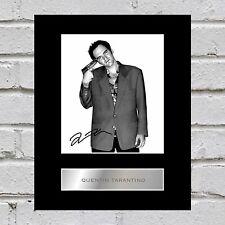 Quentin Tarantino Signed Mounted Photo Display #2
