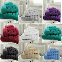 Kensington Stripe 100/% Egyptian Cotton Towels Bath Sheets Super Soft /& Absorbent