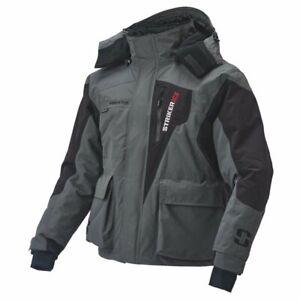 Striker Youth Predator Jacket Gray/Black Size 12