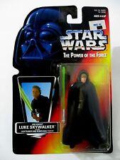 STAR WARS POTF Luke Skywalker Lightsaber & Removable Cloak Kenner 1996 MOC