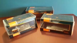NEW job lot x3 1/43 IXO EMPTY DISPLAY boxes cases + cover for 1:43 diecast model