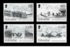 gibraltar ca 2019 D-Day Landings 75th 1944 NORMANDY war soldier military 4v mnh