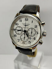 LONGINES Master Collection Men's Automatic Chronograph Watch ref L2.859.4  Mint