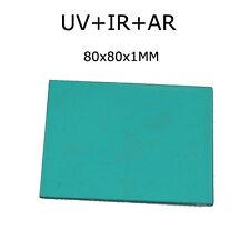 80x80MM Square UV-IR AR Cut Filter 650nm Optical UV AR IR CUT filter IR filter