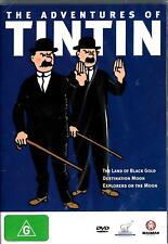 The Adventures Of TinTin, new/sealed Dvd-Land Of Black & Gold/Destination Moon +