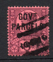 Great Britain Victoria 6d Official Goverment Parcels c1887-90 Used Stamp (2719)