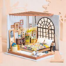 Melody Jane Casas de Muñecas Miniatura 1:24 Lado Tabla /& teléfono magnético