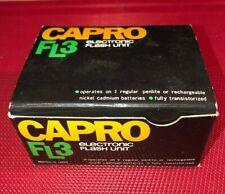 Vintage Capro Fl3 Camera Flash Unit