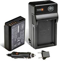 BM Premium LP-E10 Battery & Charger for Canon EOS Rebel T3, T5, T6 T7 Cameras