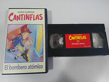 CANTINFLAS MARIO MORENO - THE FIREMAN ATOMIC - VHS TAPE TAPE COLLECTION RBA