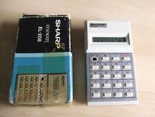 Vintage Retro Sharp ELSI MATE EL-208 Calculator Battery Operated