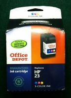 HP 23 Office Depot Remanufactured 3-color Ink Cartridge New In Box