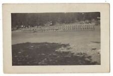 British Soldiers in Pith Helmets on Parade RP Postcard, Unused
