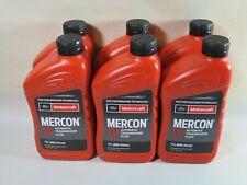 Motorcraft Mercon LV  Automatic Transmission Fluid XT-10-QLVC Case Of 6 Quarts