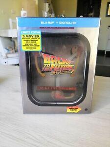 Cofanetto Blu Ray 30th Ritorno al Futuro Flusso Canalizzatore Edizione UK
