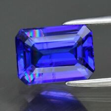 VS Clarity! 2.11ct 9x6.6mm Octagon Natural AAA D-Block Violet Blue Tanzanite