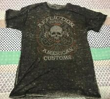 Affliction Live Fast 1973 American Customs T Shirt XXL Mens - Free Shipping