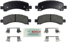 For Chevy Express 2500 3500 GMC Rear Blue Disc Brake Pads with Hardware Bosch