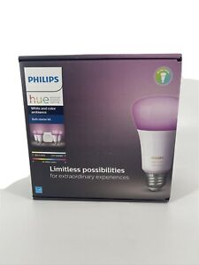Philips Hue White and Color Ambiance 4 Pack Bulb Starter Kit - 471960