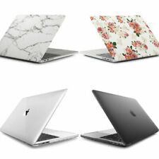 2017 Apple MacBook Pro 13 15 inch Touch Bar Marble Rubberized Hard Case Cover US