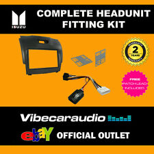 Connects2 CTKIV02 Iveco Daily 2014 > Double Din Black Stereo Fascia Fitting Kit