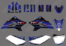 Graphic Decal Sticker Kit For Yamaha TTR50 TTR 50 2006-2015 2008 2010 2012 2014