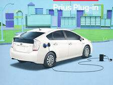 2014 Toyota Prius Plug-in Electric 1-page Car Sales Brochure Fact Card