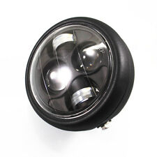 Motorcycle LED Projector Daymaker HeadLight Cafe Racer Old School Cruiser XL