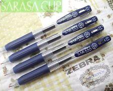 free ship 30pcs ZEBRA SARASA Clip 0.5mm Roller ball Pen BLUE BLACK ink